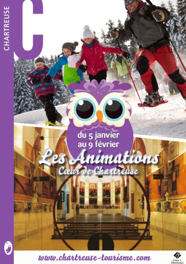 Animations en Chartreuse en janvier 2019