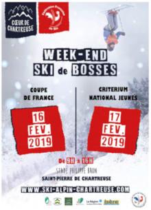 week-end ski de bosses à St Pierre de Chartreuse